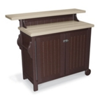 Recycled Portable Outdoor Buffet Table, 85528