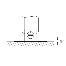 Wall Bracket for Panels, 21323