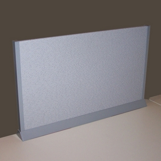 "Desktop Fabric Screen - 36"" x 13"", 21822-1"