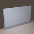 "Desktop Fabric Screen - 24""W , 21758"