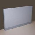 "Desktop Fabric Screen - 60"" x 13"", 21257"