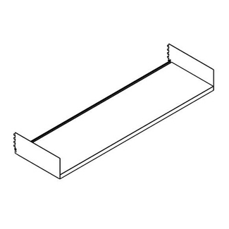 "Open Straight Shelf - 48""W, 21757"