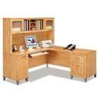 L-Desk with Hutch, 13259