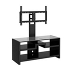 New York Skyline TV Stand with Removable TV Mounting Bracket, CD07463