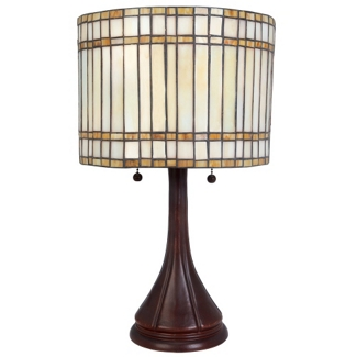 Tiffany Style Antique Bronze Table Lamp, 82676