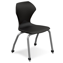 "Polypropylene 18"" H Stack Chair, 51079"