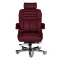 24/7 Big and Tall Chair with Headrest in Fabric, 50916