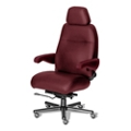 24/7 Big and Tall Chair with Headrest in Vinyl, 50921
