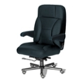 24/7 Big and Tall Chair in Italian Leather, 50927