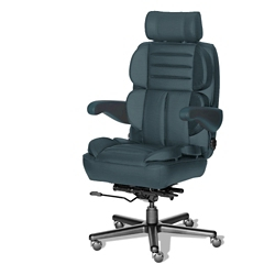 24/7 Big and Tall Chair in Italian Leather, 50931