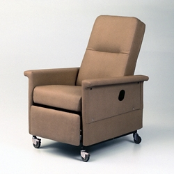 Treatment Recliner with Trendelenburg and Retractable Foot Tray, 26271