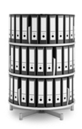 Binder Carousel with 3 Tiers, 31433