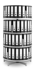 Binder Carousel with 4 Tiers, 31434