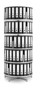Binder Carousel with 5 Tiers, 31435