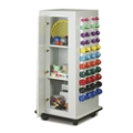 """Mobile Physical Therapy Exercise Cabinet - 65""""H , 25288"""
