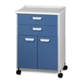 Mobile Two Door Treatment Cabinet, 25292