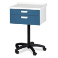 Mobile Two Drawer Equipment Cart, 25294