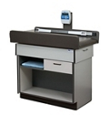 Pediatric One Drawer Exam Table with Digital Scale and Storage, 25849