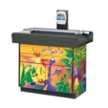 Pediatric Themed Two Door Exam Table with Digital Scale and Drawer, 25968