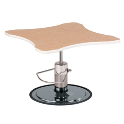Curved Adjustable Height Hand Therapy Table with Foot Pump, 25976
