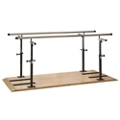 Physical Therapy Platform Mounted Parallel Bars - 7 ft, 25979