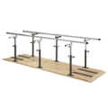 Physical Therapy Bariatric Platform Mounted Parallel Bars - 10 ft, 25981