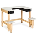 """Whirlpool Hydrotherapy Table with Plastic Surfaces - 39""""H, 25987"""