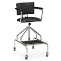 Adjustable Height Whirlpool Therapy Stool with Casters, 25989