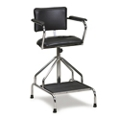 Adjustable Height Whirlpool Therapy Chair with Glides, 25990