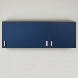 """Three Door Wall Cabinet - 66""""W , 26014"""