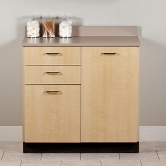 """Two Door Base Cabinet with Two Drawers - 36""""W , 26016"""