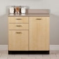 "Two Door Base Cabinet with Two Drawers - 36""W , 26016"