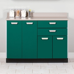 """Four Door Base Cabinet with Two Drawers - 48""""W , 26018"""