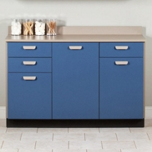 """Three Door Base Cabinet with Three Drawers - 54""""W , 26019"""