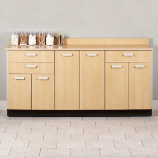 """Six Door Base Cabinet with Three Drawers - 54""""W , 26021"""