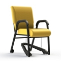 """Vinyl Chair with Mobility Assistor - 20""""W Seat, 26405"""