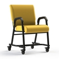 """Vinyl Chair with Locking Casters - 20""""H Seat, 26413"""