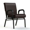 "Vinyl Swivel Chair - 20""H Seat, 26410"