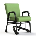 """Vinyl Swivel Chair with Mobility Assistor - 20""""H Seat, 26411"""