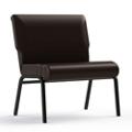 "Armless Vinyl Chair - 30""W Seat, 26417"