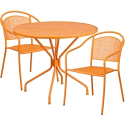 """35.25"""" Table and Two Armchair Set, 86327"""