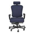 Ergonomic 24/7 Intensive Use Fabric Chair with Headrest, 56383