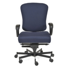Ergonomic 24/7 Intensive Use Fabric Chair, 56389