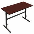 """Workstation with Manual Height Adjustment - 48""""W x 24""""D, 60088"""