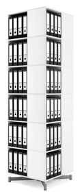 Six-Tier Spin-N-Store Carousel, 33383
