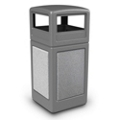 42 Gallon Dome Lid Waste Receptacle, 85629