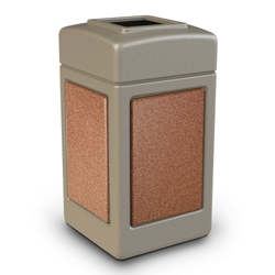 42 Gallon Square Waste Receptacle, 85631