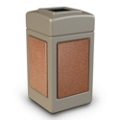42 Gallon Square Waste Receptacle, 85631