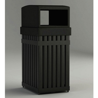 25 Gallon Waste Receptacle with Rectangular Opening, 85633