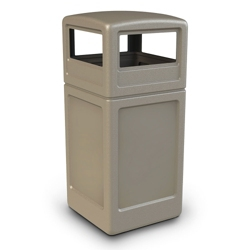 Dome Lid Waste Receptacle - 42 Gallon, 85868